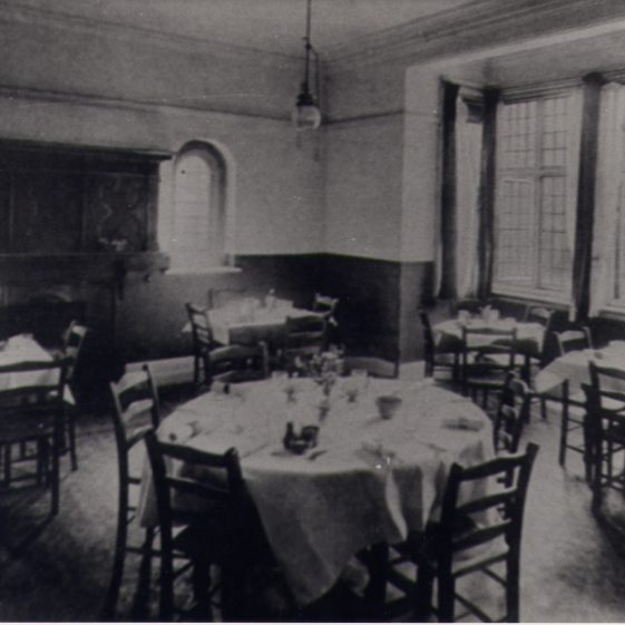 The Dining Room, St Helena's | Harpenden UDC Collection