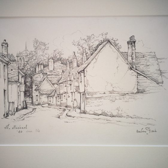 St Michaels Street, St Albans | Anton Pieck - Copyright of the Pieck family