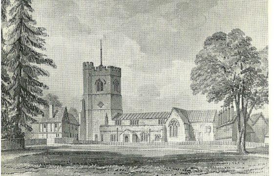 Harpenden's former Norman parish church