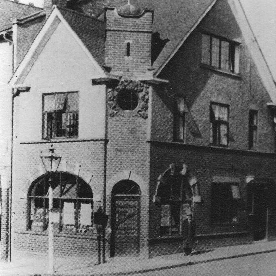 34 Station Road, c.1920, R G Harding Estate Agent | LHS archives - LHS 5687 copied from a negative