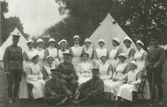 Army Hospitals in Harpenden in WW1