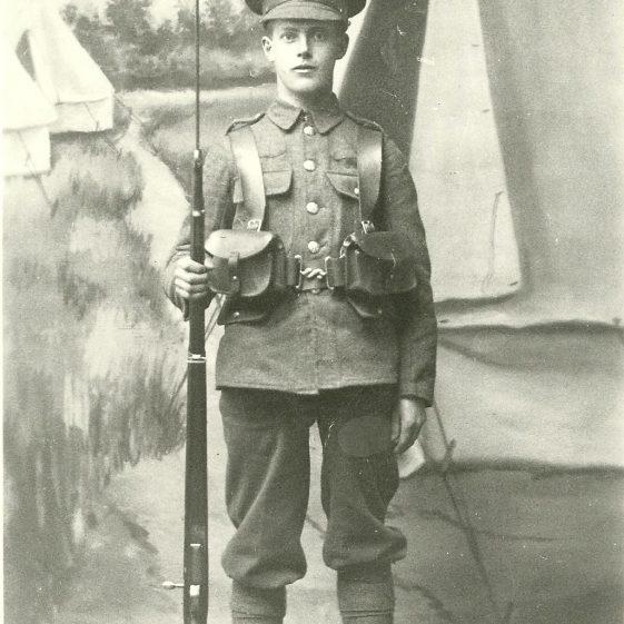 43.  Perhaps a studio portrait of a school cadet? | LHS archives - SF 0005