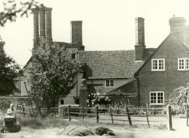 Turner's Hall Farm, c 1992 - the house was spared in the fire | Les Casey