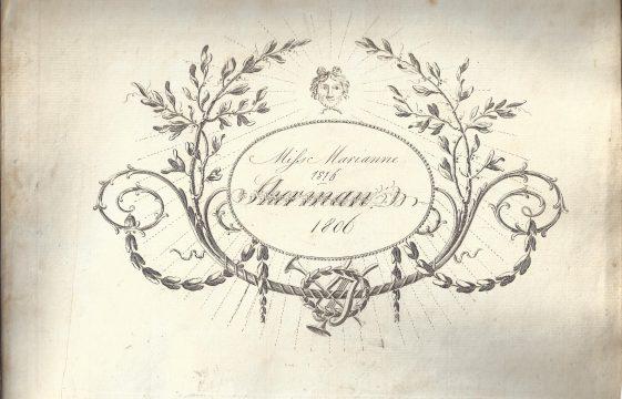 Marianne Sherman's Music and Dance manuscripts (1806)