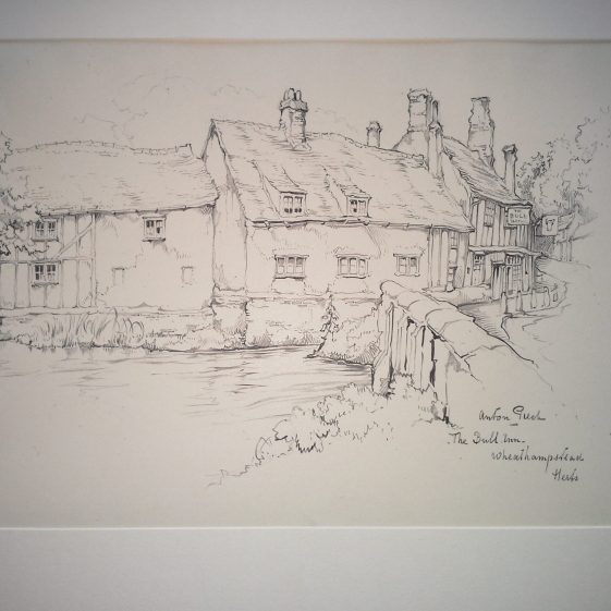 The Bull, Wheathampstead | Anton Pieck - Copyright of the Pieck family