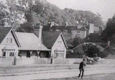 The Institute - now the Friends Meeting House | LHS archives - detail from B 2.40
