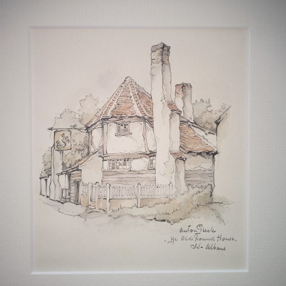 The Round House (The Fighting Cocks) St Albans | Anton Pieck - Copyright of the Pieck family