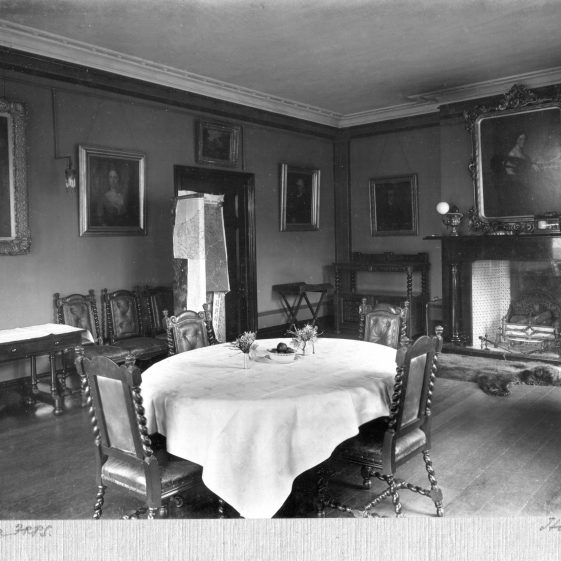 11 Welcombe - dining room   LHS archives - Thurston Album 10