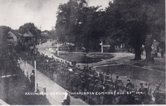 More troops in Harpenden - 1915