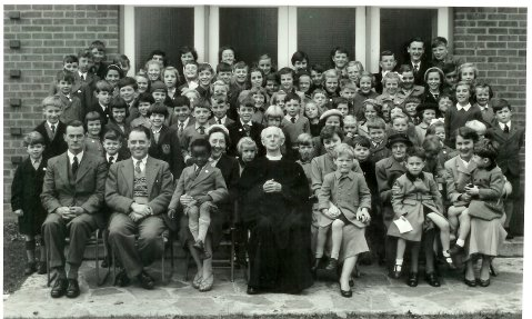 Sunday School Picture from late 1950's.