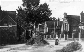 Crowded Schools at Harpenden.