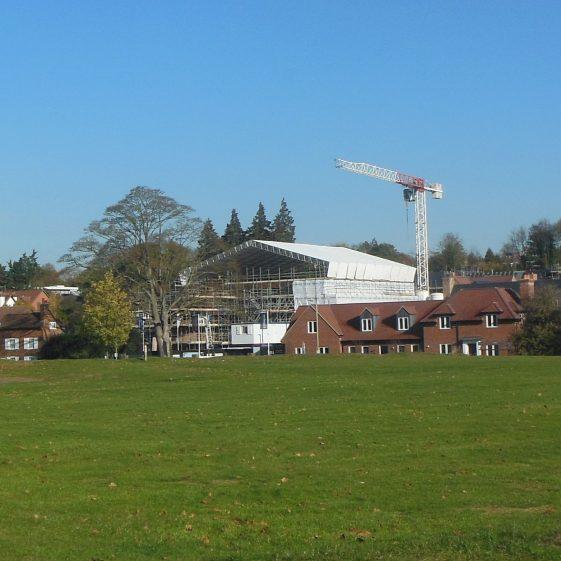 37. Work begins on Welcombe House   R Ross, October 2018
