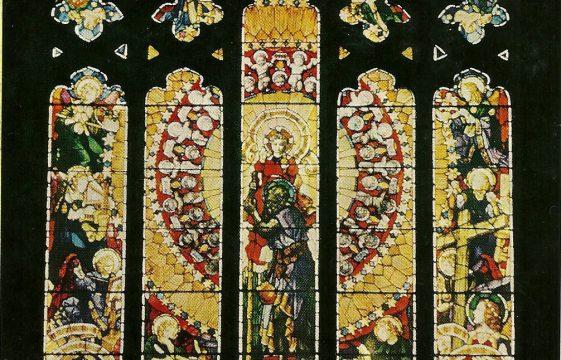 Frank O Salisbury's stained glass windows in Highfield Oval