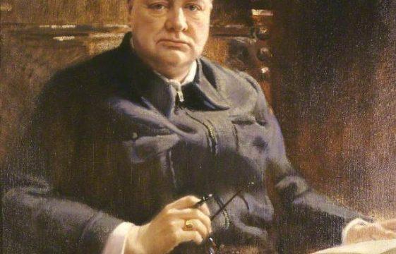 Winston S Churchill and Frank O Salisbury
